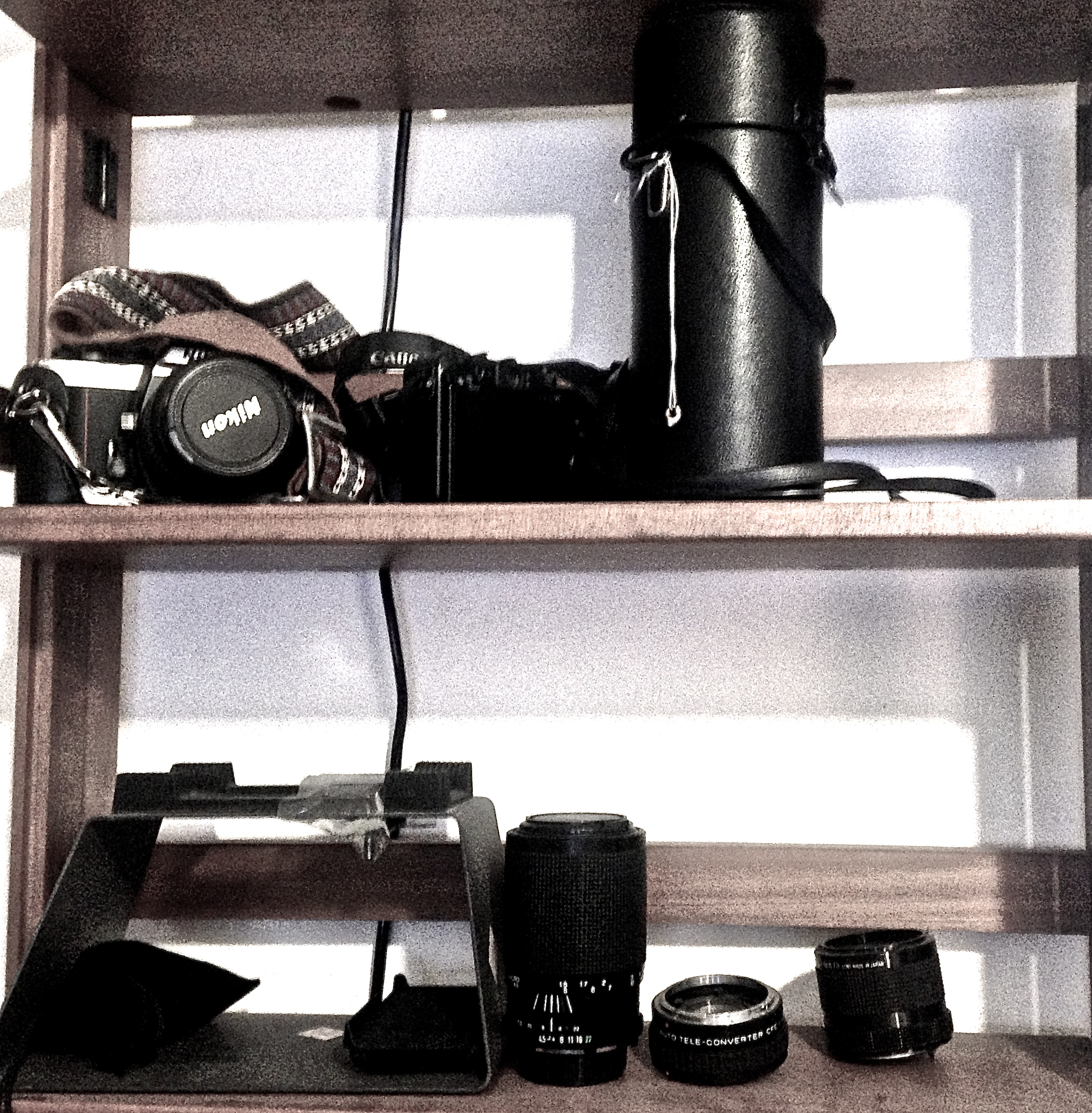 Daniel Lichtenberg studio camera and accessories