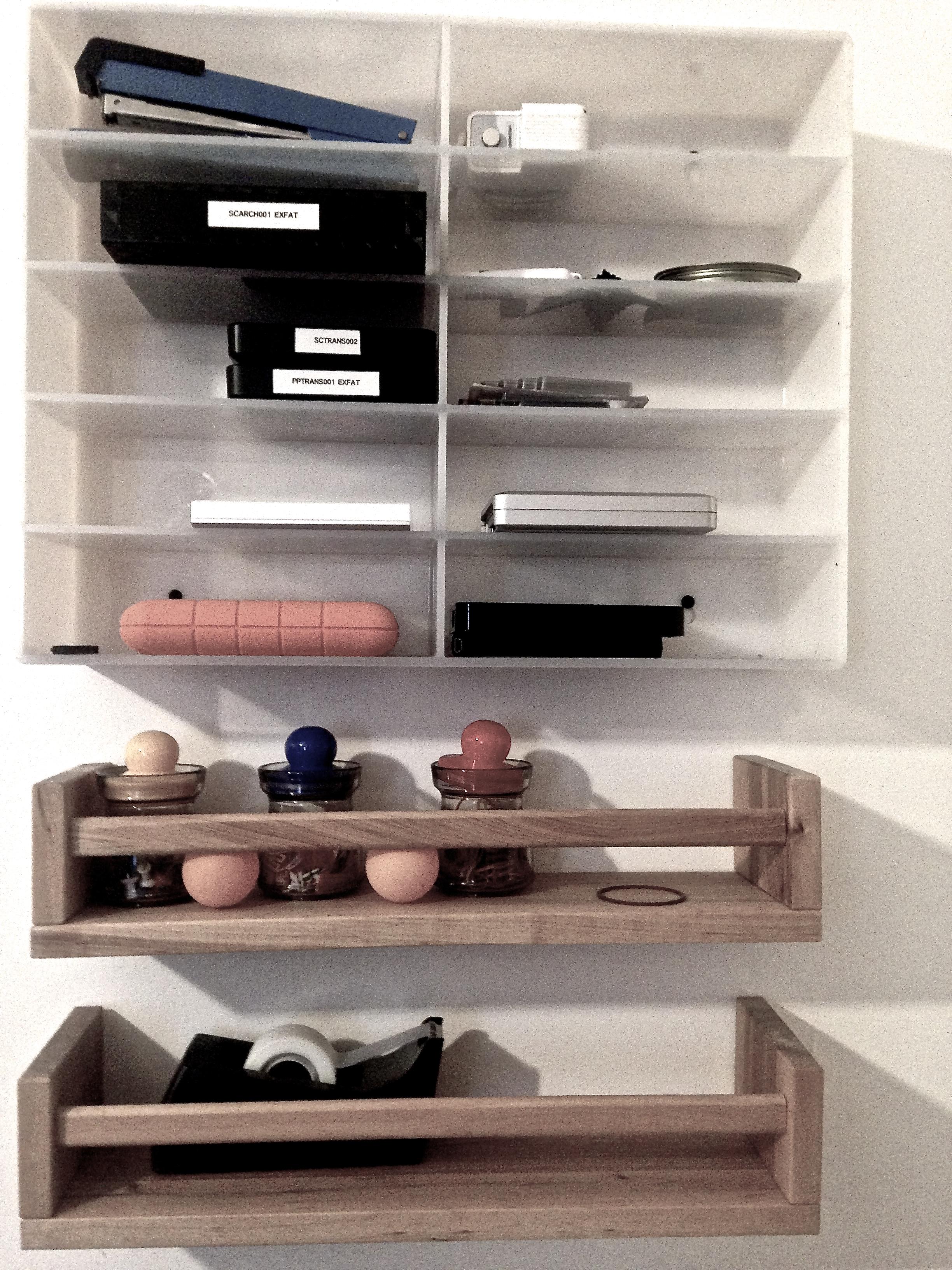 Daniel Lichtenberg studio shelf